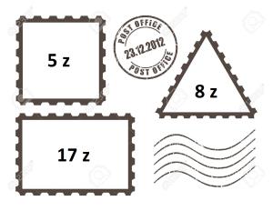 perangko n bea pos