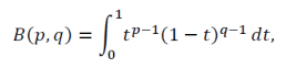 fungsi beta-1