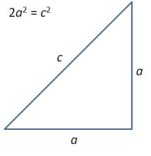 segitiga siku-siku sama-kaki